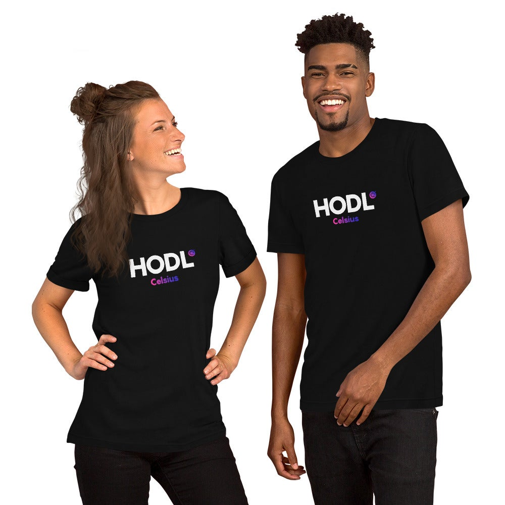 Image of HODL Unisex Black T-Shirt
