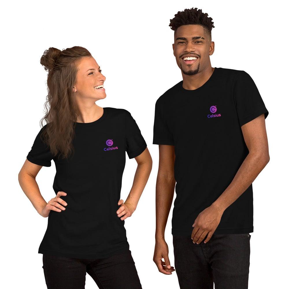 Image of Celsius Unisex Black T-Shirt