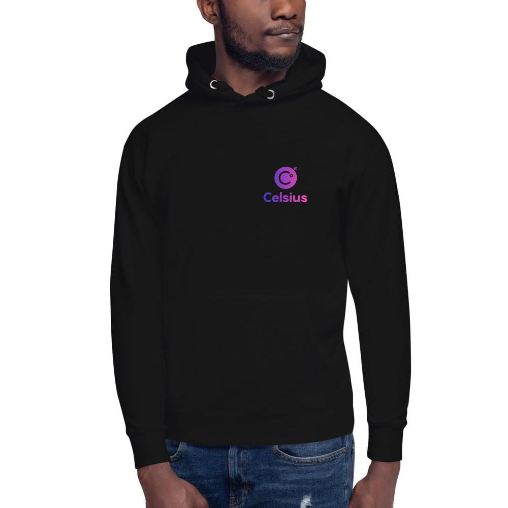 Image of Celsius Unisex Black Hoodie