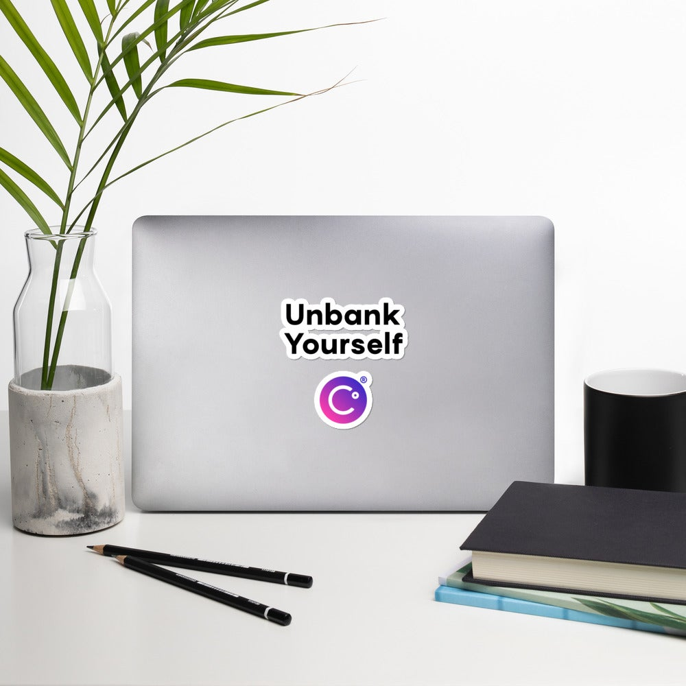 Image of Unbank Yourself Sticker