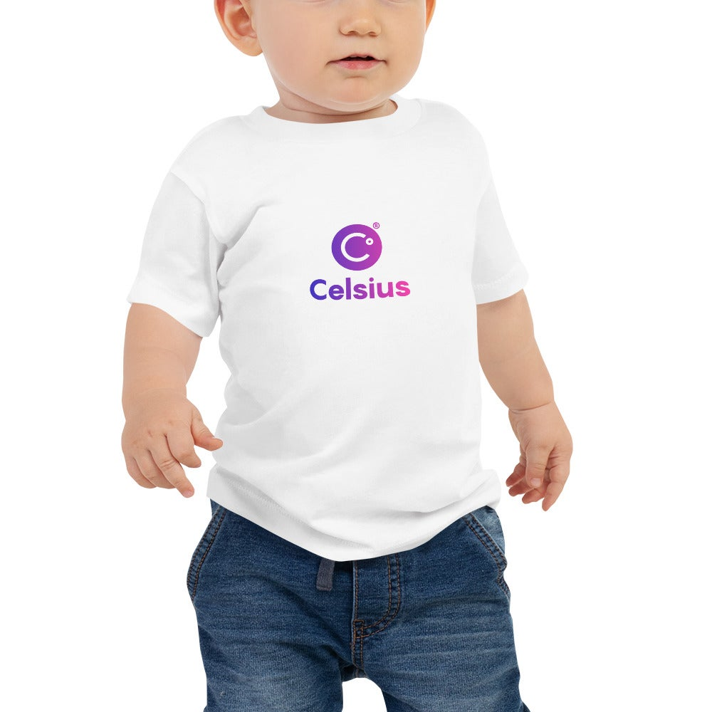 Image of Celsius White Baby T-Shirt