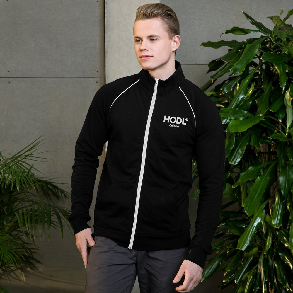 Image of HODL Men's Piped Fleece Jacket