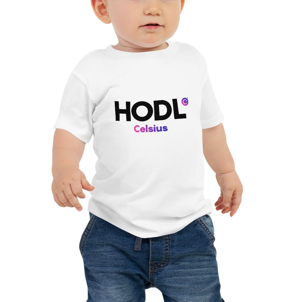 Image of HODL White Baby T-Shirt