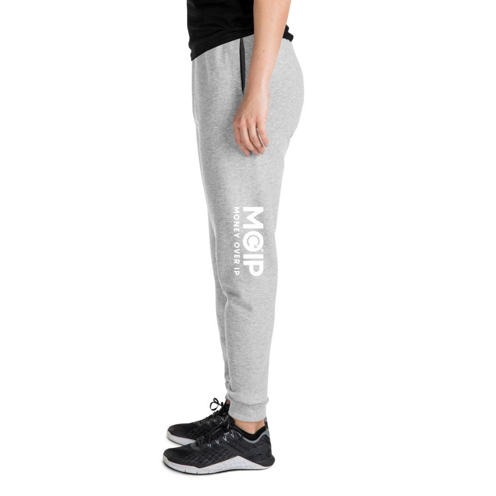 Image of MOIP Unisex Grey Joggers