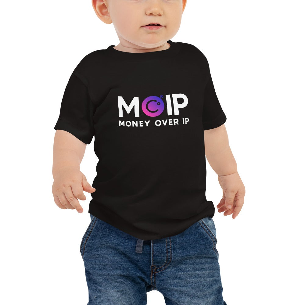 Image of MOIP Black Baby T-Shirt