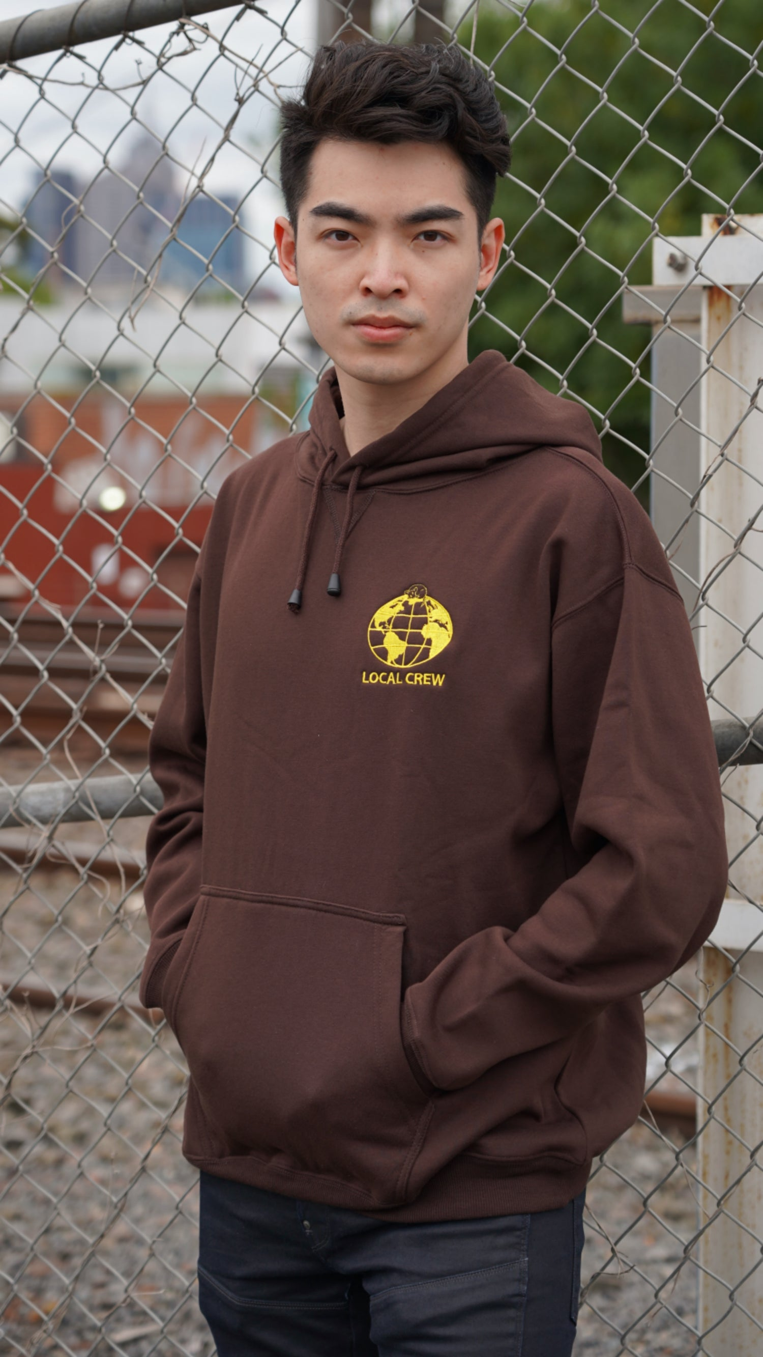 Image of Local Crew Hoodie (Brown)