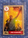 #3 Heinrichs baseball card w/ hard case