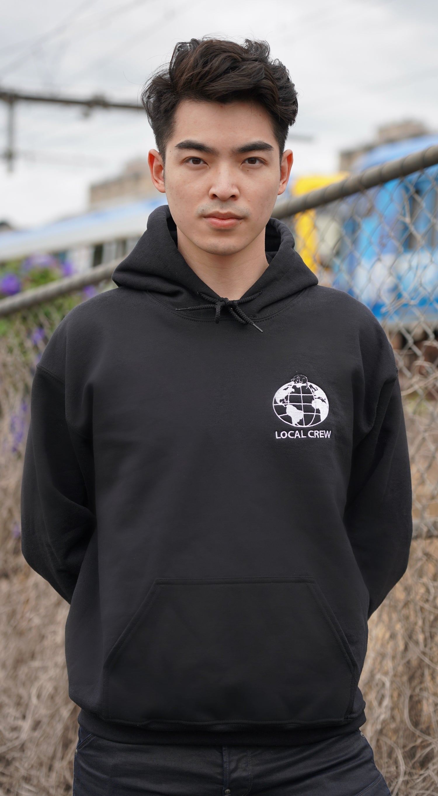 Image of Local Crew Hoodie (Black)
