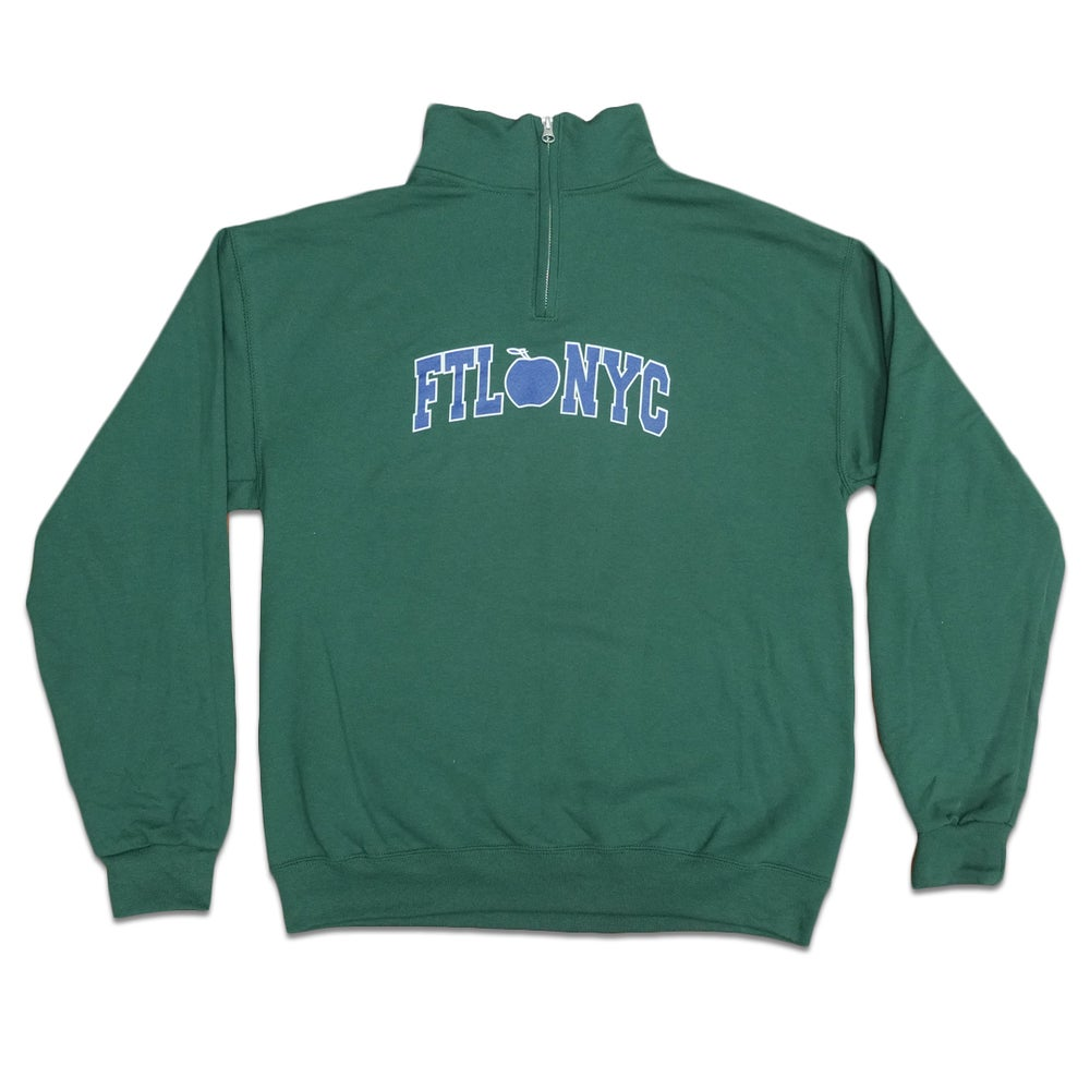 Image of Varsity Quarter Zip (Forest)