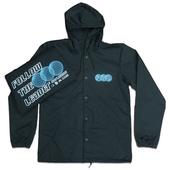 Image of Tri World Hooded Coach Jacket