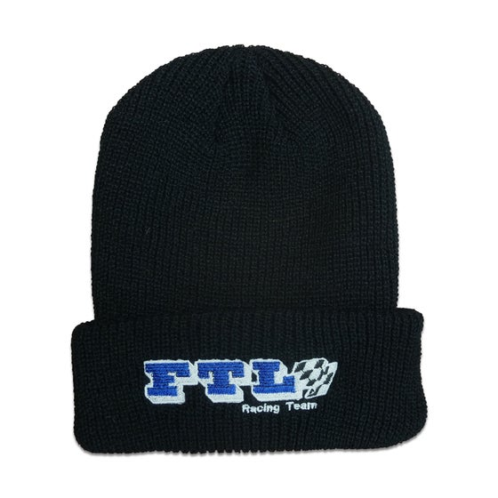 Image of Racing Beanie (Black)