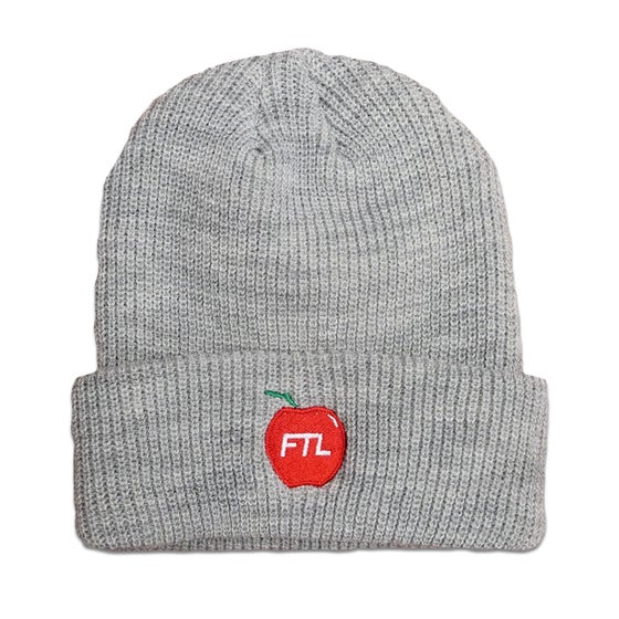 Image of FTL Apple Beanie (Heather)
