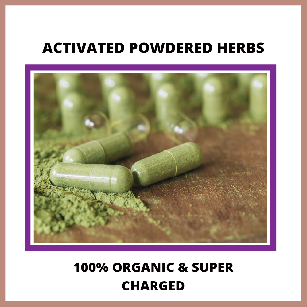 Activated Organic Powdered Herbs