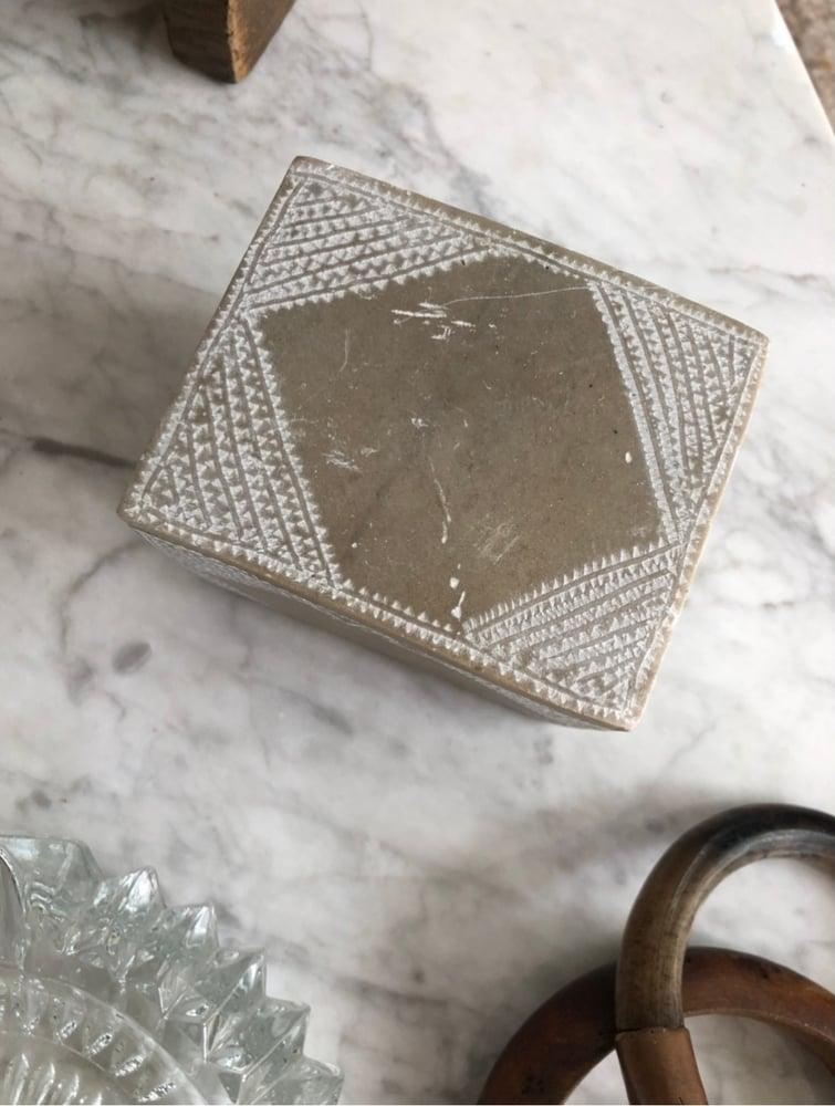 Image of Boîte bijoux en pierre