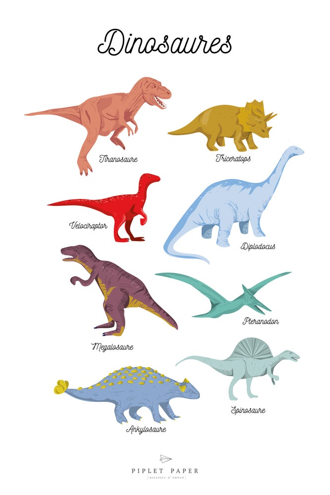 Image of Dinosaures