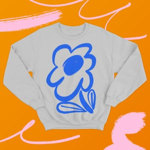 Image of Bloom Sweatshirt - Grey
