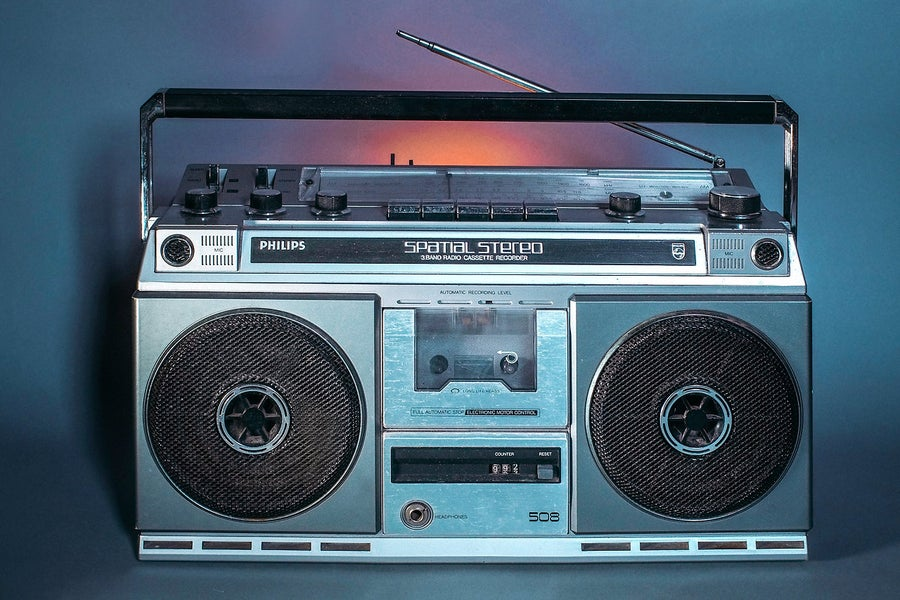 Image of PHILIPS SPATIAL STEREO 508 (1982) BLUETOOTH BOOMBOX