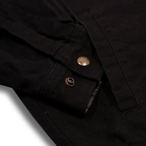 Image of Carhartt Shirt Flanel Lined Black XL/L/M