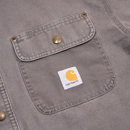 Image of Carhartt Shirt Flanel Lined Grey XL/L/M