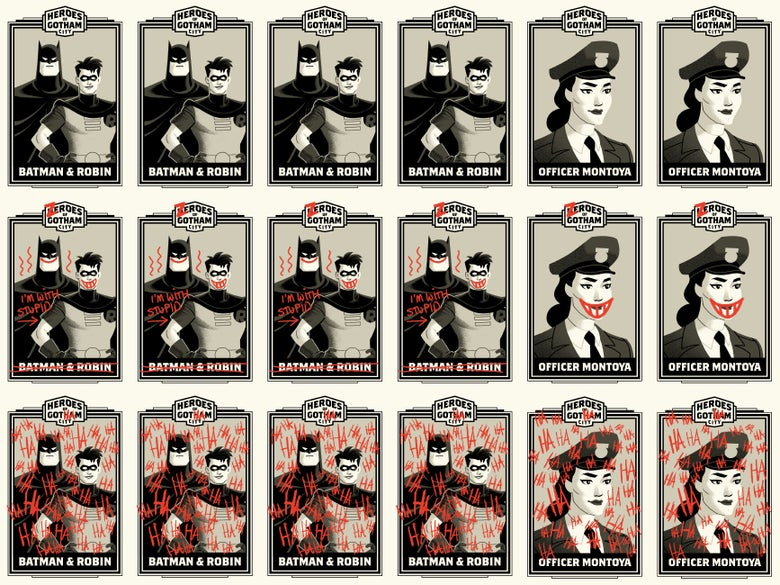 Image of HEROES OF GOTHAM (CHASE)