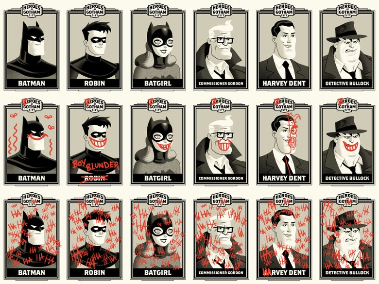 Image of HEROES OF GOTHAM (MAIN)