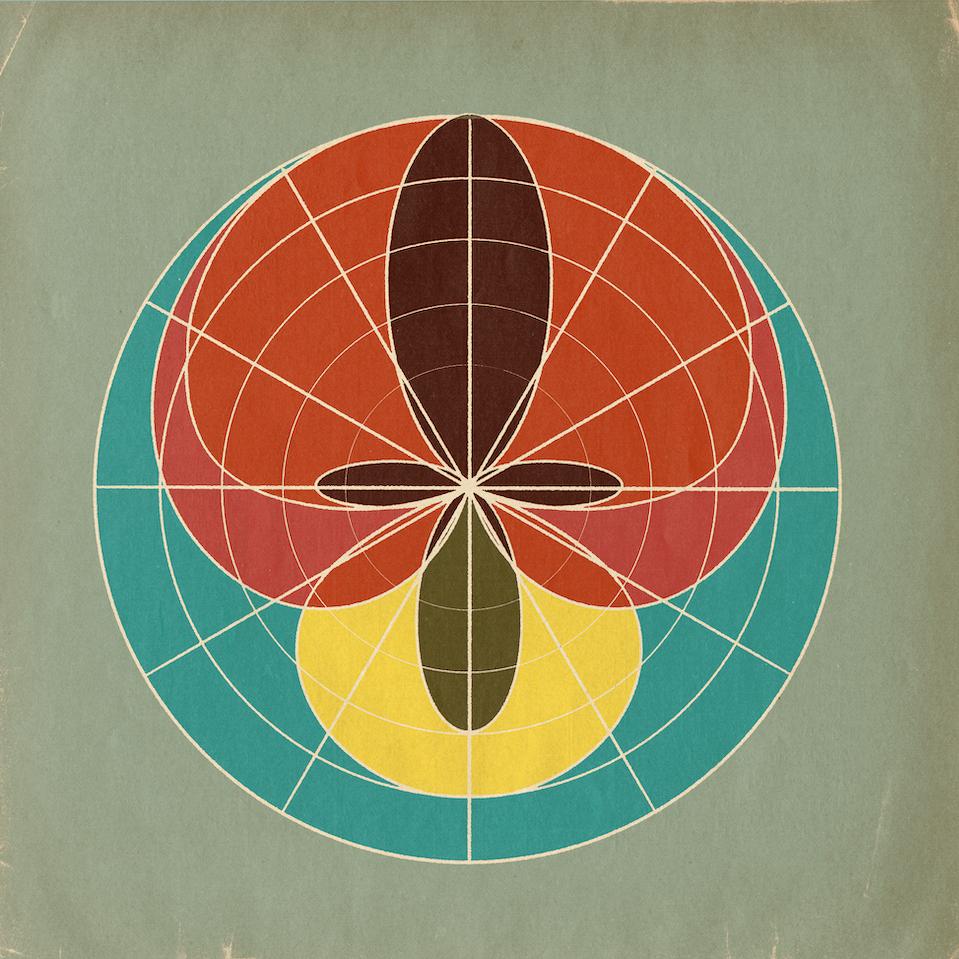 """Analog Prints Polar Patterns 18""""x18"""" Print"""