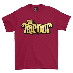 Image of T-shirt TEXT Logo Cardinal Red