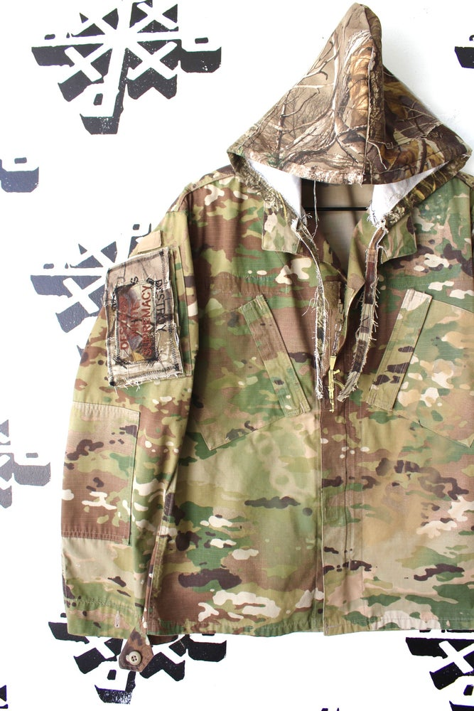 Image of way more tactical custom camo jacket