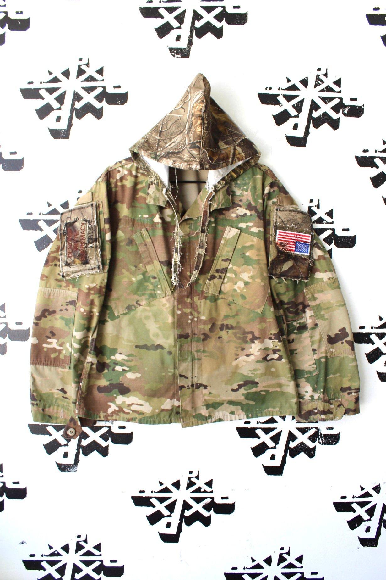 Image of way more tactical custom camo jacket