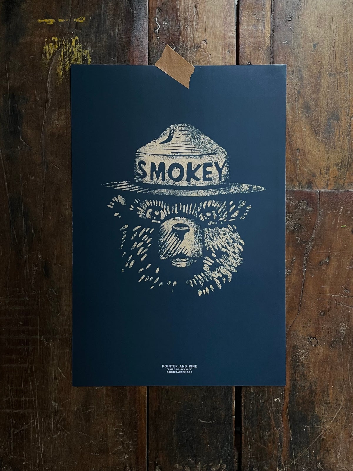Image of SMOKEY PRINT