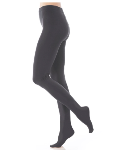 Image of Dark Gray Fleece Lined Tights