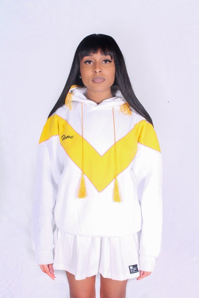 Image of Cheerleader Hoodie (White)