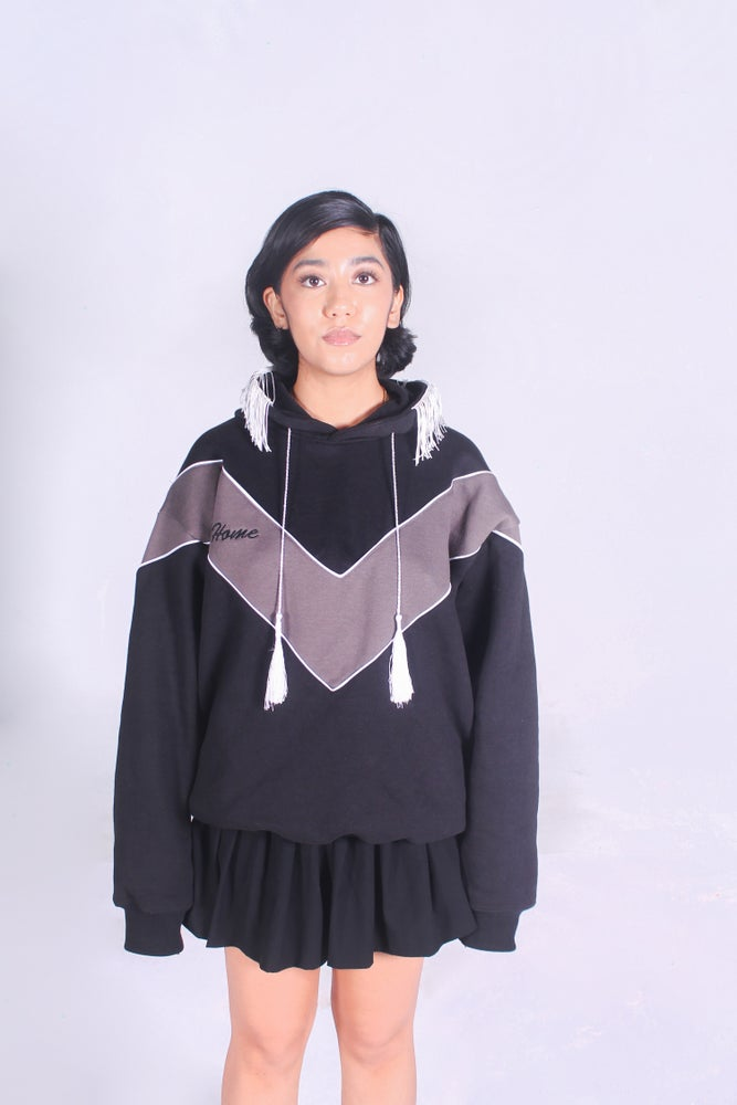 Image of Cheerleader Hoodie (Black)