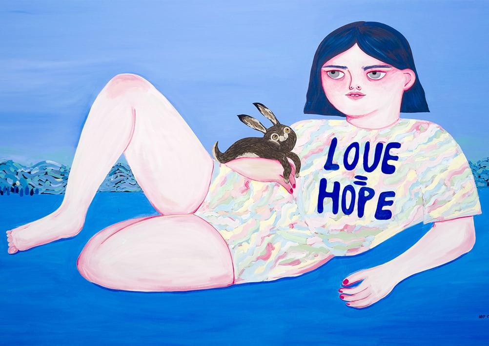 Image of Love = Hope