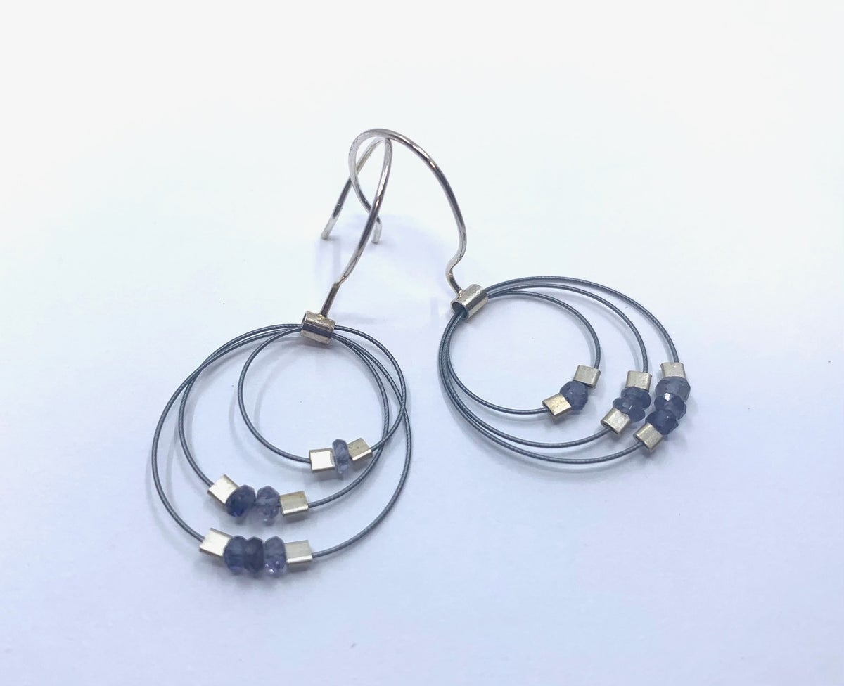 **25% Off** Concentric Circle Earrings by Meghan Patrice Riley