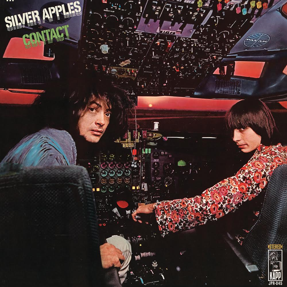 Image of SILVER APPLES - Contact LP