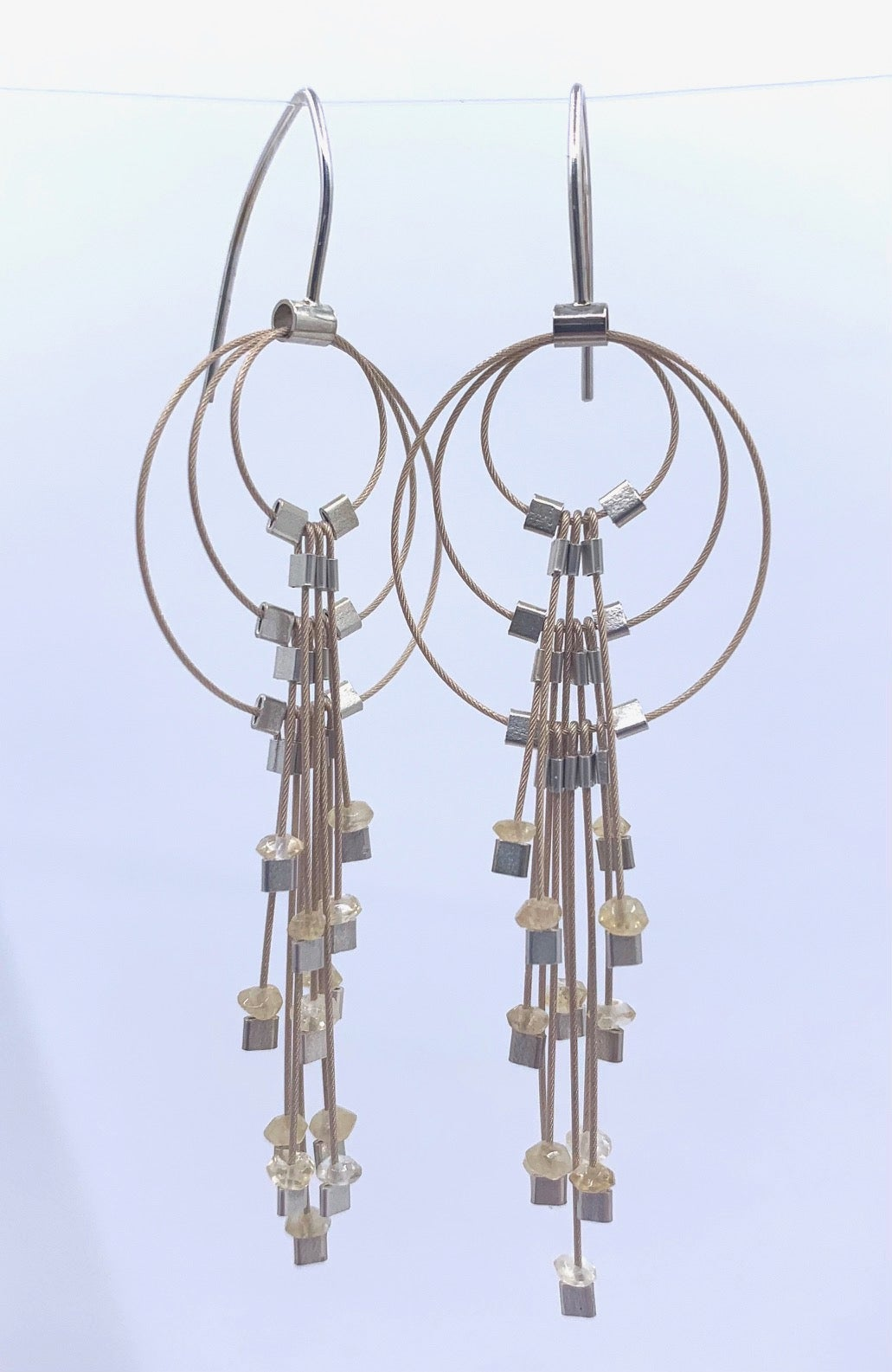 **25% Off** Wire Cluster Earrings by Meghan Patrice Riley