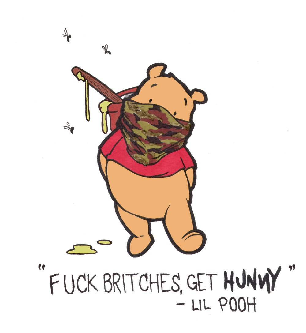 Image of Get Hunny Sticker