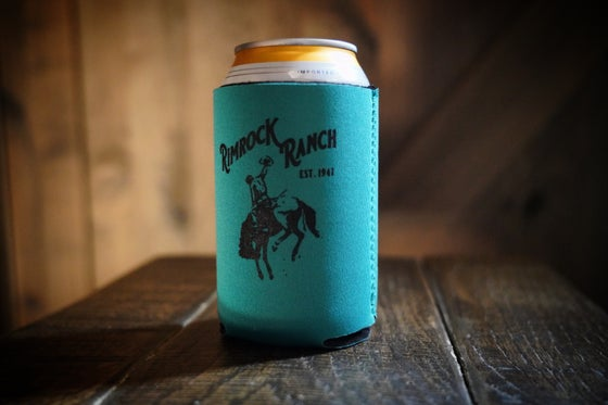 Image of Beer Holster - Turquoise Bronc Rider