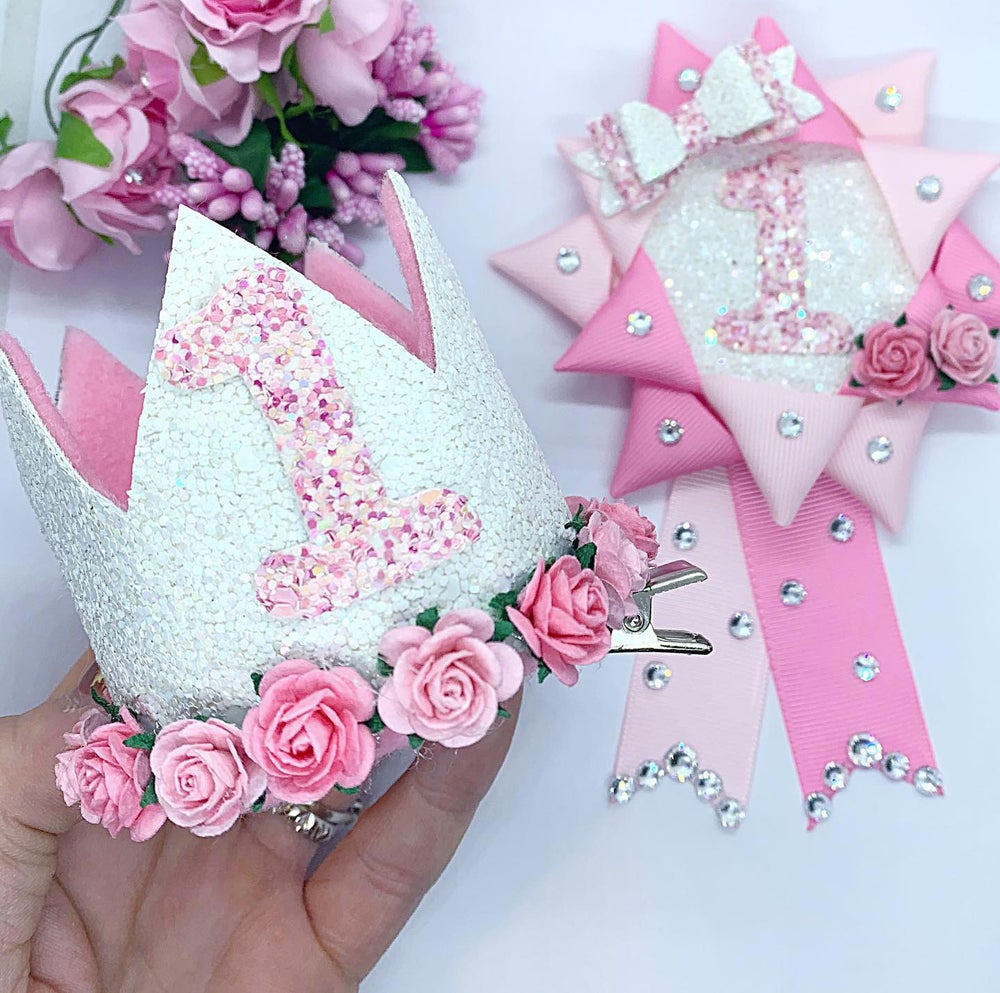Image of Pretty pinks birthday set