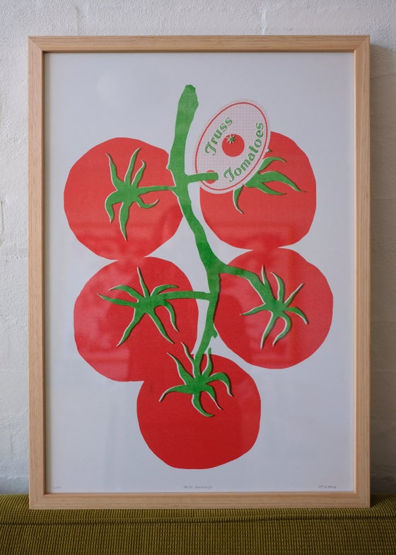 Image of Framed Truss Tomatoes – Vic Ash