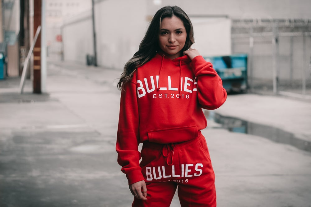 Red Heavyweight Pullover