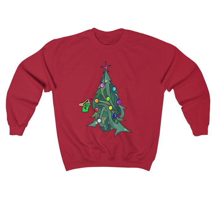 Image of Hip Hop Xmas Tree Sweater