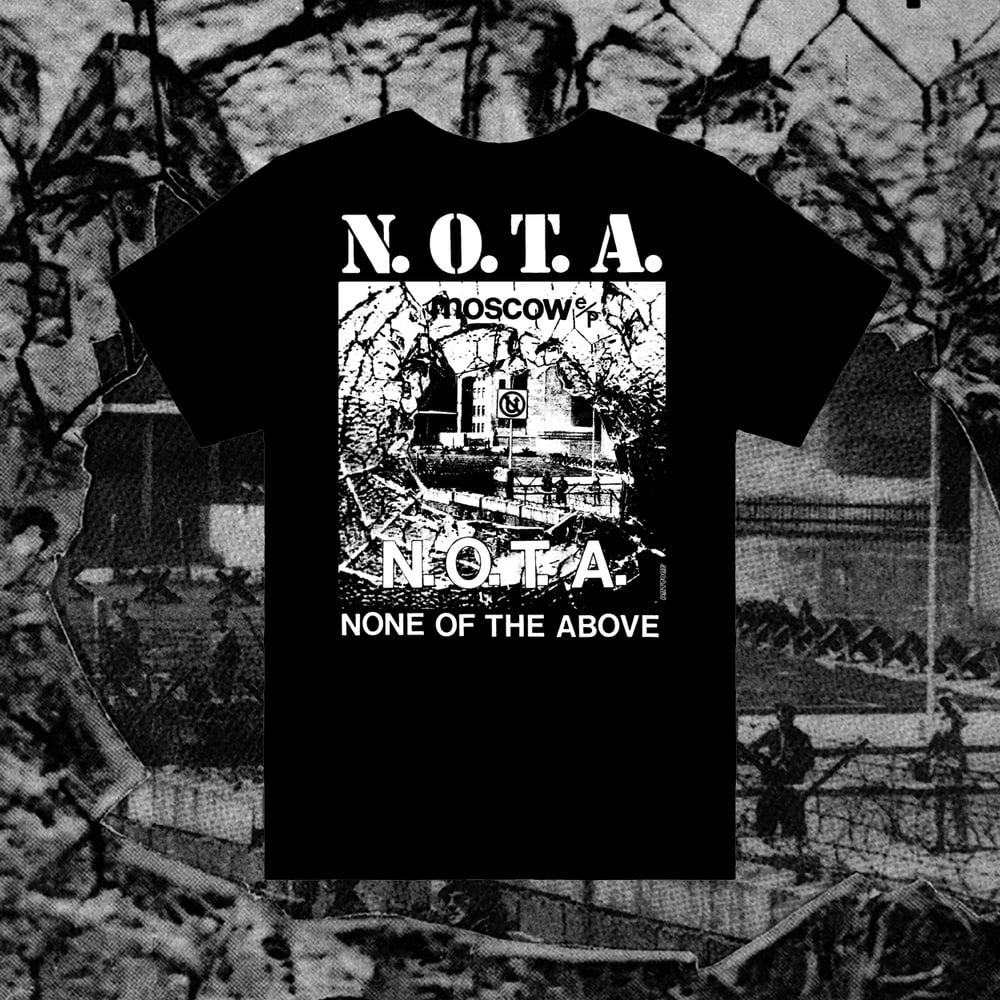 Image of N.O.T.A. - T SHIRT REPRINT
