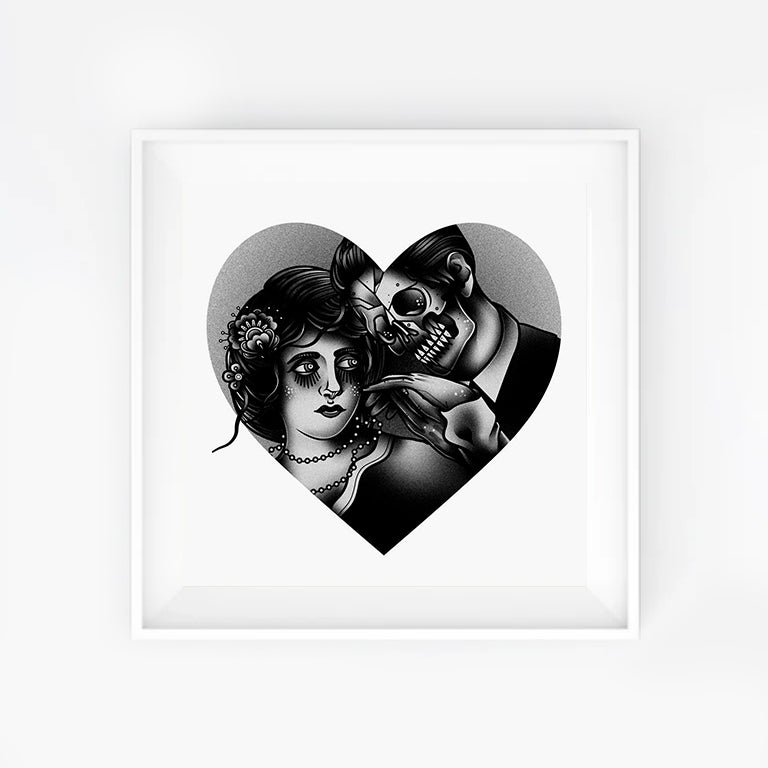 Image of TILL DEATH 20x20 Print