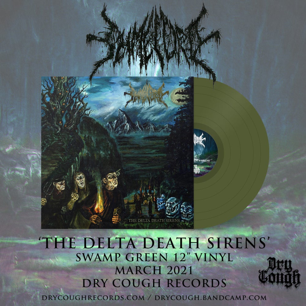 "Image of Slimelord - The Delta Death Sirens 12"" (DC44) PRE-ORDER"