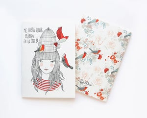 Image of Cuaderno Pájaros en la cabeza