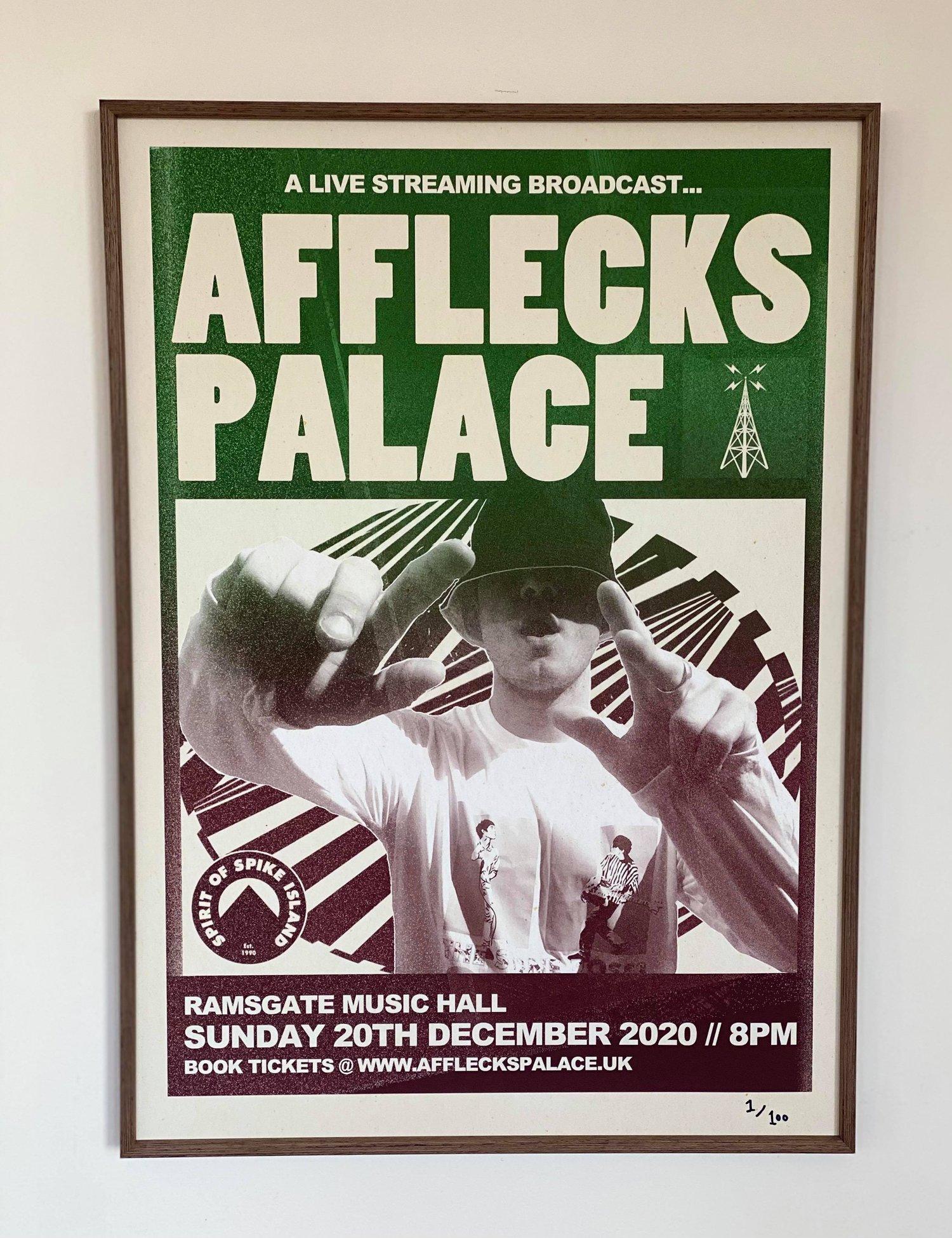 Image of A3 POSTER - Afflecks Palace / live at Ramsgate Music Hall