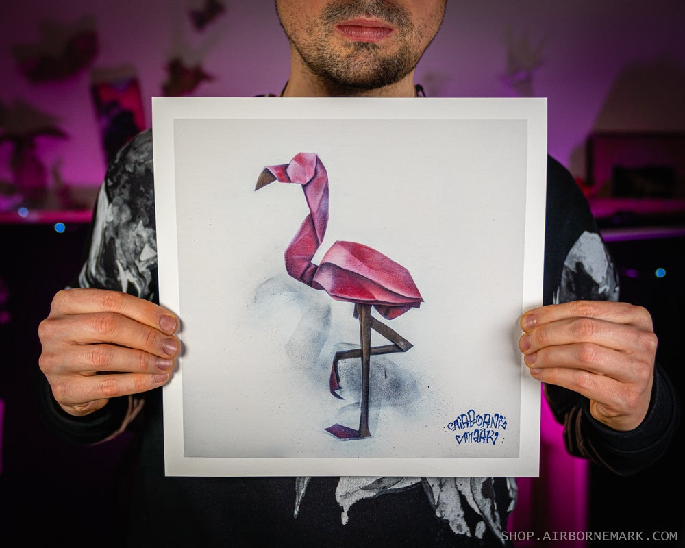Image of The Flamingo Giclee Print