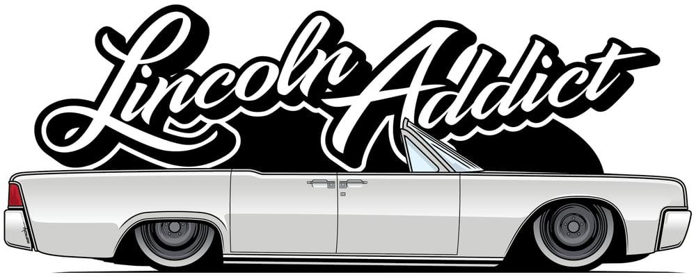 Image of Lincoln Addict 2.0 Logo Sticker